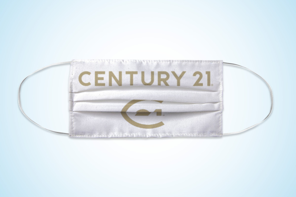Picture of Century 21 Stacked Gold Text