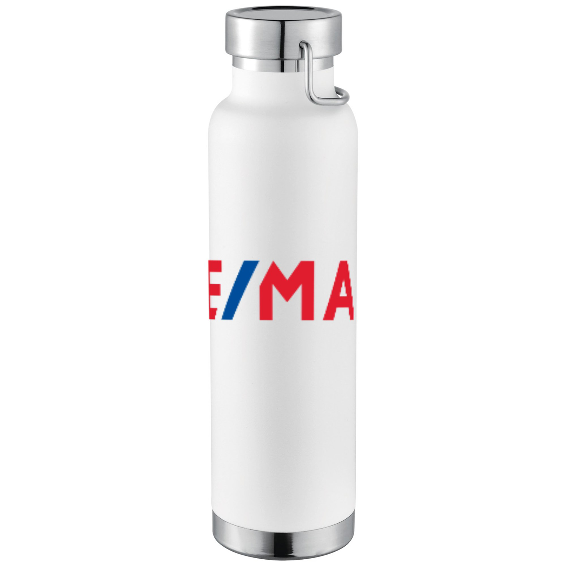 Picture of Thor Copper Vacuum Insulated Bottle - White