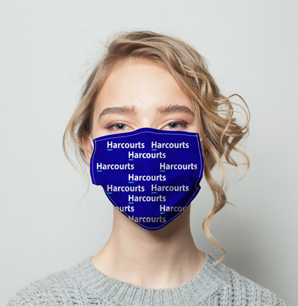 Picture of Harcourts USA Logo Repeat (Blue)