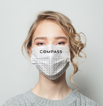 Picture of Compass Facemask Alt White