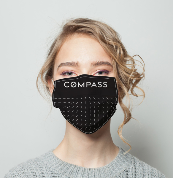 Picture of Compass Facemask Alt Black