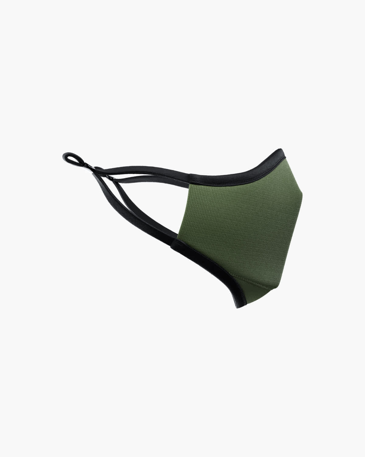 Picture of TRUMASK Child Size Solid Olive Green Design