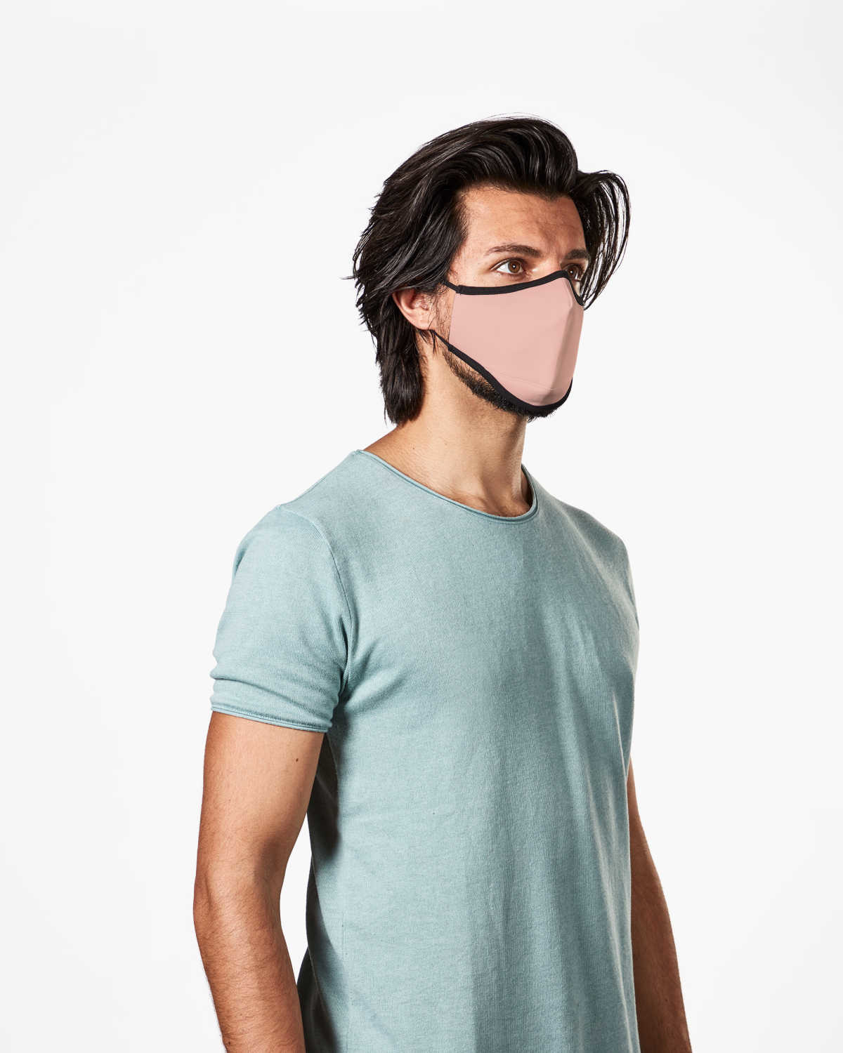 Picture of TRUMASK Adult Size Solid Pink Design