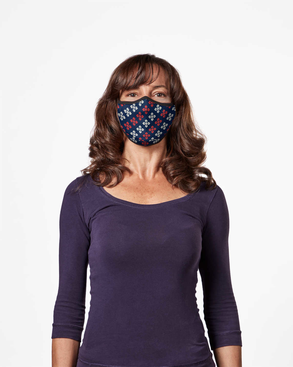 Picture of TRUMASK Adult Size Geometric Flower Design
