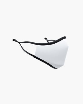 Picture of TRUMASK Adult Size Solid White Design