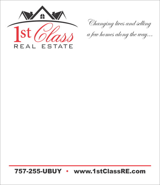 Picture of 1st Class Notepad